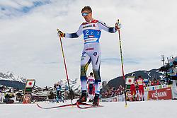 February 24, 2019 - Seefeld In Tirol, AUSTRIA - 190224 Calle Halfvarsson of Sweden looks dejected after  the men's team sprint final during the FIS Nordic World Ski Championships on February 24, 2019 in Seefeld in Tirol..Photo: Joel Marklund / BILDBYRÃ…N / kod JM / 87889 (Credit Image: © Joel Marklund/Bildbyran via ZUMA Press)
