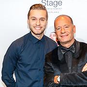 NLD/Utrecht/20180923 - Premiere Mamma Mia, Ron Boszhard en zoon Niels