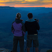 Photographers At Grand Canyon, Arizona