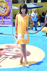 July 23, 2017 - Westwood, California, U.S. - Constance Zimmer  arrives for the premiere of the film 'The Emoji Movie' at the Regency Village theater. (Credit Image: © Lisa O'Connor via ZUMA Wire)
