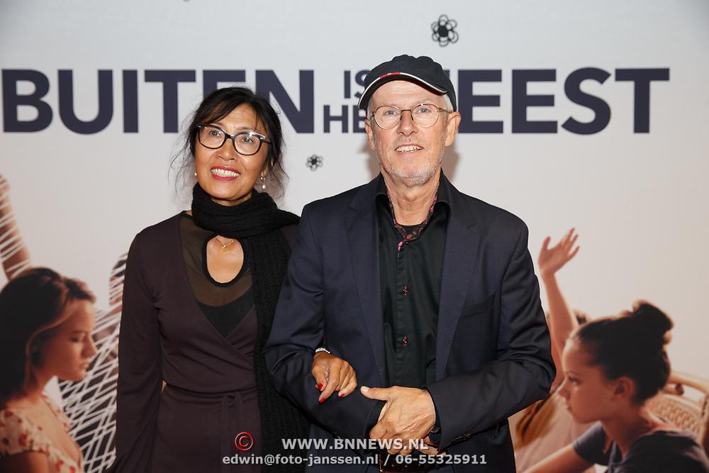 NL/Utrecht/20200929 - NFF filmpremiere Buiten is het Feest, Jelle Nesna en ........