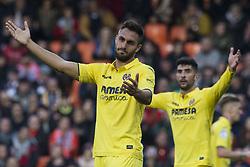 December 23, 2017 - Valencia, Spain - Victor Ruiz during the match between Valencia CF against Villarreal CF , week 17 of  La Liga 2017/18 at Mestalla stadium, Valencia, SPAIN - 17th December of 2017. (Credit Image: © Jose Breton/NurPhoto via ZUMA Press)