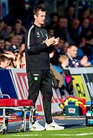18/10/14 SCOTTISH PREMIERSHIP<br /> ROSS COUNTY v CELTIC<br /> GLOBAL ENERGY STADIUM - DINGWALL<br /> Celtic manager Ronny Deila