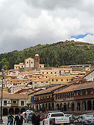 Scenes from around the the Plaza de Armas in Cusco, Peru.