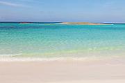 Ocean Beach on Bita Bay on Green Turtle Cay, Bahamas.