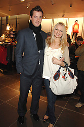 HANNAH SANDLING and OLIVER FELSTEAD at a party to celebrate the opening of the new H&M store at 234 Regent Street, London on 13th February 2008.<br /><br />NON EXCLUSIVE - WORLD RIGHTS