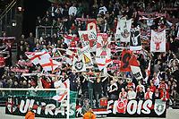 FOOTBALL - FRENCH CHAMPIONSHIP 2011/2012 - L2 - STADE DE REIMS v AS MONACO - 07/05/2015 - PHOTO JEAN MARIE HERVIO / REGAMEDIA / DPPI - FANS REIMS