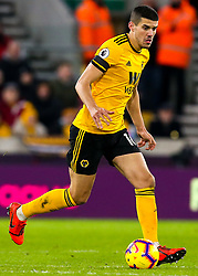 Conor Coady of Wolverhampton Wanderers - Mandatory by-line: Robbie Stephenson/JMP - 11/02/2019 - FOOTBALL - Molineux - Wolverhampton, England - Wolverhampton Wanderers v Newcastle United - Premier League