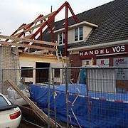 Nieuwbouw voor vuurwerkverkoop bij IJzerhandel Vos Huizen