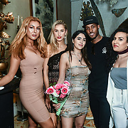 Bachelor girls contestant attend The Bachelor UK 2019 launch night - The girls private screening on Channel 5 at Beach Blanket Babylon on 4 March 2019, London, UK