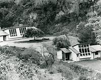 Early 1960s Artists studios at Huntington Hartford's Runyon Canyon property