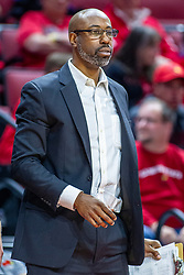NORMAL, IL - November 10: Brian Reese during a college basketball game between the ISU Redbirds and the Little Rock Trojans on November 10 2019 at Redbird Arena in Normal, IL. (Photo by Alan Look)