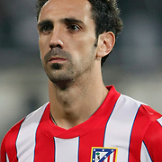 Atletico Madrid's Juanfran during their UEFA Europa League Round of 16, Second leg soccer match Besiktas between Atletico Madrid at Inonu stadium in Istanbul Turkey on Thursday March 15, 2012. Photo by TURKPIX