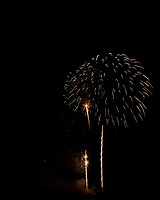 Montgomery Township Independence Day Fireworks. Image taken with a Nikon D810a camera and 200 mm f/2 lens (ISO 200, 200 mm, f/11, 3 sec).
