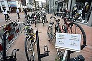 Nederland, Nijmegen, 15-12-2013In de binnenstad is vandaag onder het vernieuwde Plein 44, plein44, een gratis en bewaakte fietsenstalling geopend. Hierdoor gaan enkele fietsrekken in het centrum verdwijnen.Foto: Flip Franssen/Hollandse Hoogte