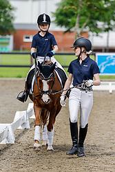 14.2, Pony-Führzügel-WB,Leck - Kreisjugendturnier 05. - 06.06.2021, Frida Kinsky (GER), Eiluns Peggy,