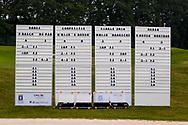 28-05-2016 Foto's van de kruisfinales in de hoofdklasse van de NGF Competitie 2016.<br /> Foto: Scoreborden. Genomen tijdens Finaleweekend NGF Hoofdklasse 2016 bij Goyer Golf & Country Club in Eemnes, Nederland.