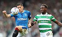 Football - 2016 / 2017 Scottish League Cup - Semi-Final - Celtic vs. Rangers<br /> <br /> Rob Kiernan of Rangers and Moussa Dembele of Celtic at Hampden Park.<br /> <br /> COLORSPORT/LYNNE CAMERON