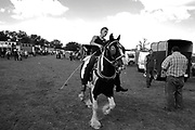 In Barnet, North London, Irish Travellers and Gypsies from all over the UK gathered at the Barnet horse fair to sell and buy horses. It's also the occasion to see relatives and friends. There are also numerous stalls and stands.
