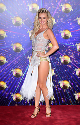 Nadiya Bychkova arriving at the red carpet launch of Strictly Come Dancing 2019, held at BBC TV Centre in London, UK.