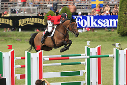 Etter Daniel (SUI) - Peu A Peu<br /> The Meydan FEI Nations Cup<br /> Falsterbo Horse Show 2009<br /> © Hippo Foto - Leanjo de Koster