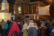 Selkirk Living Nativity. 2018.  Held in the town Market square on Christmas Eve
