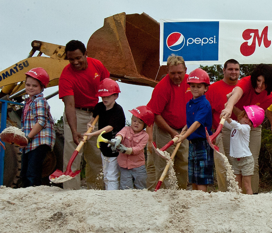 Miracle Strip employees welcome the children of Panama City Beach to the soon to be expanded Miracle Strip at Pier Park