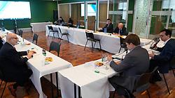 O presidente da Federasul, Anderson Trautman Cardoso durante a Reunião de Integração de Outubro. FOTO: Jefferson Bernardes/ Agência Preview