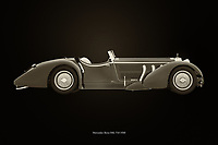 The Mercedes-Benz SSK-710 from 1930 dates from the beginning of what we call the modern car industry. With this Mercedes-Benz SSK-710 from 1930 Mercedes had a small but wealthy clientele who were the founders of the name and fame of Mercedes.<br /> <br /> This painting of a Mercedes-Benz SSK-710 from 1930 can be printed very large on different materials. –<br /> <br /> BUY THIS PRINT AT<br /> <br /> FINE ART AMERICA<br /> ENGLISH<br /> https://janke.pixels.com/featured/mercedes-benz-ssk-710-black-and-white-jan-keteleer.html<br /> <br /> WADM / OH MY PRINTS<br /> DUTCH / FRENCH / GERMAN<br /> https://www.werkaandemuur.nl/nl/shopwerk/Mercedes-Benz-SSK-710-zwart-en-wit/743750/132?mediumId=11&size=75x50<br /> <br /> -