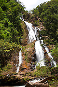 Rio Acima_MG, Brasil...Natureza no Condominio Tangara no municipio de Rio Acima. Na foto uma cachoeira...The nature in Tangara condominium in Rio Acima. In this photo, a waterfall...Foto: LEO DRUMOND /  NITRO