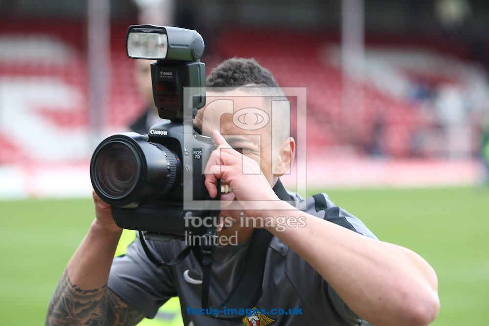 Picture by David Horn/Focus Images Ltd +44 7545 970036.27/04/2013.Kyle Bennett of Doncaster Rovers after the npower League 1 match at Griffin Park, London.