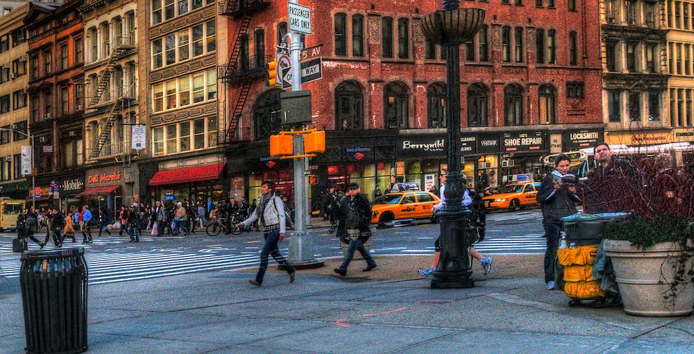 Manhattan street view