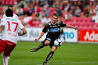 Fotball , <br /> Adeccoligaen , <br /> Fredrikstad Stadio , <br /> FFK - Bryne , <br /> 18.07.10 , <br /> Brynes Kai Ove Stokkeland , <br /> Foto: Christoffer Andersen / Digitalsport ,