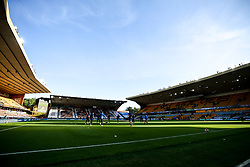 A general view of Molineux home to Wolverhampton Wanderers - Mandatory by-line: Robbie Stephenson/JMP - 20/07/2020 - FOOTBALL - Molineux - Wolverhampton, England - Wolverhampton Wanderers v Crystal Palace - Premier League