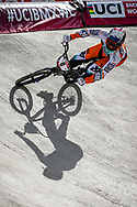 #8 (VAN DER BURG Dave) NED at Round 4 of the 2019 UCI BMX Supercross World Cup in Papendal, The Netherlands