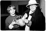 Paul Newman. Piers Gaveston drinks. Rhodes House. Oxford 1980© Copyright Photograph by Dafydd Jones 66 Stockwell Park Rd. London SW9 0DA Tel 020 7733 0108 www.dafjones.com