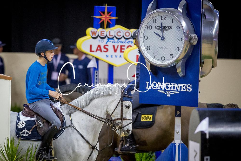 Allen Bertram, IRL, Molly Malone V<br /> World Cup Final Jumping - Las Vegas 2015<br /> © Hippo Foto - Dirk Caremans<br /> 15/04/2015