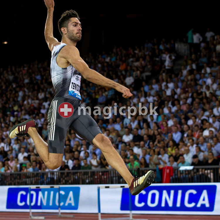 Miltiadis TENTOGLOU of Greece competes in the Men's Long Jump during the Iaaf Diamond League meeting (Weltklasse Zuerich) at the Letzigrund Stadium in Zurich, Switzerland, Thursday, Aug. 29, 2019. (Photo by Patrick B. Kraemer / MAGICPBK)