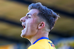 Otis Khan of Mansfield Town shouts to Mansfield Town players - Mandatory by-line: Ryan Crockett/JMP - 01/09/2018 - FOOTBALL - One Call Stadium - Mansfield, England - Mansfield Town v Carlisle United - Sky Bet League Two