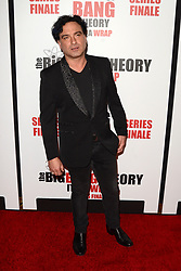 May 1, 2019 - Pasadena, CA, USA - LOS ANGELES - MAY 1:  Johnny Galecki at the ''The Big Bang Theory'' Series Finale Party at the Langham Huntington Hotel on May 1, 2019 in Pasadena, CA (Credit Image: © Kay Blake/ZUMA Wire)