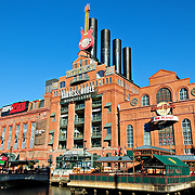 Power Plant and pier at Baltimore's Inner Harbor