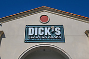 General overall view of a Dick's Sporting Goods store, Monday, Oct. 12, 2020, in El Segundo, Calif. (Dylan Stewart/Image of Sport)
