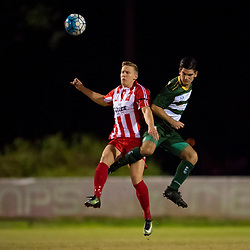 BRISBANE, AUSTRALIA - JUNE 16:  during the NPL Queensland Senior Men's Round 14 match between Olympic FC and Western Pride at Goodwin Park on June 16, 2017 in Brisbane, Australia. (Photo by Patrick Kearney/Olympic FC)