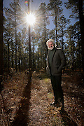 Dry Branch, GA. January 3, 2014.  Chuck Leavell at home at Charlane Plantation in Dry Branch, GA.<br /> <br />  --    Photo by Michael  A. Schwarz,