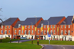 New housing development, Hamilton, Leicester, England, UK.