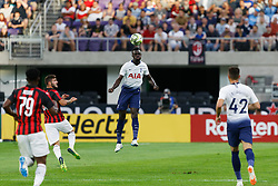 July 31, 2018 - Minneapolis, MN, USA - Minneapolis, Minnesota - July 31, 2018: Tottenham Hotspur and AC Milan play in a 2018 International Champions Cup match at US Bank Stadium. (Credit Image: © Jeremy Olson/ISIPhotos via ZUMA Wire)