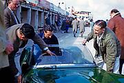 Nürburgring 1000 Kilometres 28 May 1961, Bill de Selincourt at rear Lola Mk.1 car