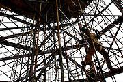 Nova Lima_MG, Brasil...Obras do Centro Cultural CASA (Centro de Arte Suspensa Armatrux) no Vale do Sol, em Nova Lima...The construction of the Cultural Center CASA  (Centro de Arte Suspensa Armatrux) in the Vale do Sol, Nova Lima...Foto: BRUNO MAGALHAES / NITRO