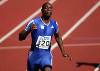 Friidrett, 6. august 2005, VM Helsinki, <br /> World Championship in Athletics<br /> Ronald Pognon, FRA,  100 metres