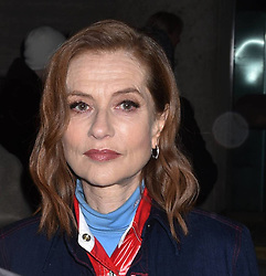 Isabelle Huppert leaving Calvin Klein fashion show during NYFW at the New York Stock Exchange on February 13, 2018 in New York City, NY, USA. Photo by MM/ABACAPRESS.COM